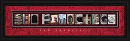 San Francisco, California Framed Letter Art - $39.95