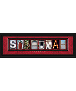 Savannah, Georgia Framed Letter Art - $39.95