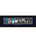 Scituate, MA. Framed Letter Art - $39.95