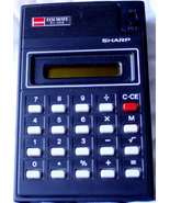 Sharp Calculator EL-206 - $14.75