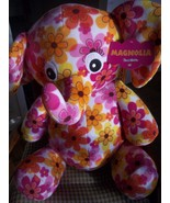 Large Stuffed Elephant from Toys R Us, Magnolia, Plush, Colorful, New wi... - $12.00