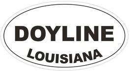 Doyline Louisiana Oval Bumper Sticker or Helmet Sticker D3903 - $1.39+