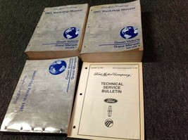 2001 FORD Crown Victoria & Mercury Grand Marquis Service Shop Manual SET... - $98.95