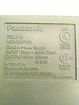 Panasonic PQLV19 Cordless Phone Charger AC Wall Power Adapter  6V 500mA - $7.67