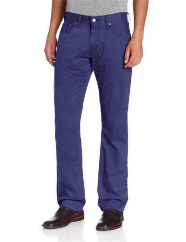 NEW LEVI'S STRAUSS 514 MEN'S ORIGINAL SLIM STRAIGHT JEANS PANTS BLUE 514-0452