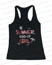 Women's Beach Tank Tops - Summer Kind of Girl (Racerback style) - $14.99+