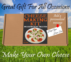 Cheese  KIT Mozzarella and Ricotta Great Gift Present Contains Vegetarian Rennet - $6.99