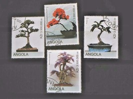 Angola Set of 4 Stamps MINT -canceled - MNH Free Shipping # S3013 - $1.68