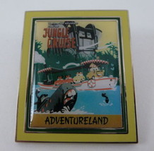 Disney Pixar Cars Attraction Posters Luigi Mia Tia Jungle Cruise Booster Pin - $20.95