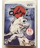 Okami Nintendo Wii (2008, Capcom) Complete FREE SHIPPING - $15.85