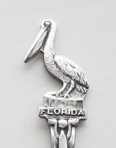 Collector souvenir spoon usa florida key west pelican 3d figural  1  thumb200