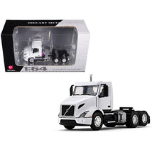 Volvo VNR 300 Day Cab White 1/64 Diecast Model by First Gear 60-0372 - $50.13