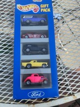 1993 HOT WHEELS FORD 5 PACK GIFT PACK, #3871 - $11.88