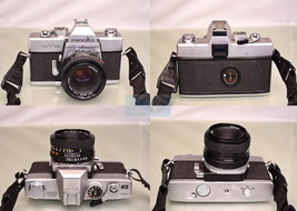 Minolta SRT 101 35mm Film Camera w/Minolta 50mm Manual Focus Lens - Very... - $108.88