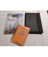 1 Address Book, 1  1996 Monet Calender, and 1 Journal Lot of 3 - $17.73