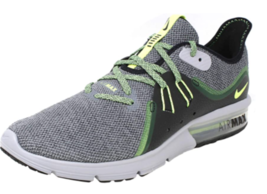 Nike Air Max Sequent 3 Grey/Green 921694 007 Men's Size 8.5 - $89.95