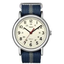 Timex Weekender Slip-Thru Watch - Navy/Gray - $48.35