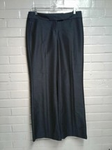 Women's Express Blue Size 6 Stripped Dress Pants - $8.17