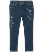 Tommy Hilfiger Girls Glitter Star Skinny Jeans Size 3T - $21.55