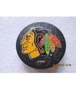 Chicago Blackhawks NHL puck, Bobby Hull #9 autographed, no COA - $25.00