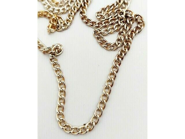 Gold-tone Chain, 78 Inches for Jewelry Making