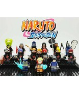 16pcs/set Naruto Series Akatsuki Pain Obito Kakashi Sasuke Custom Minifi... - $34.99
