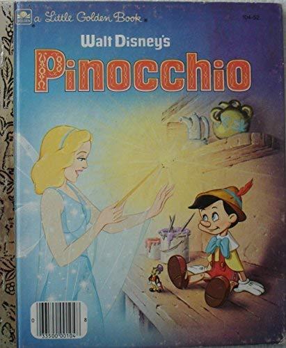 WALT DISNEY'S PINOCCHIO (A LITTLE GOLDEN BOOK) [Unknown
