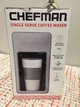 Chefman Single Coffee Maker - Travel Cup Not Included - $20.30