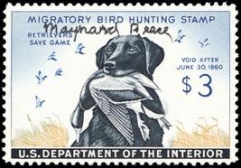 RW26, Artist Signed Maynard Reese Duck Stamp VF NH - Stuart Katz - $250.00