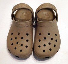 085cea073 Shoes CROCS Unisex Childs TAUPE (LT BROWN) Clogs Sandal Size M 1 W · Add to  cart · View similar items