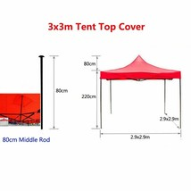 Outdoor Canopy Cover Top Replacement Camping Tent Rain Patio Sunshade Pr... - $63.08+