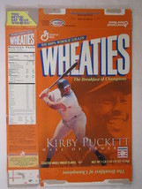 Empty Wheaties Box 2001 18oz Kirby Puckett & David Winfield [Z202e9] - $6.38