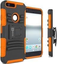 Google Pixel XL Case, CoverON [Explorer Series] Holster Hybrid Armor Belt Clip - $14.56