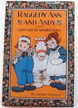 Raggedy Ann Pin & Andy Camel Book Cover Storybook Lapel Offset Print Col... - $1.99