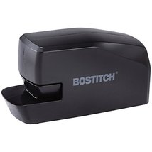 Bostitch Portable Electric Stapler, 20 Sheets, AC or Battery Powered, Black MDS2 image 2