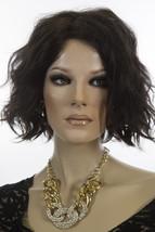 January 4 Brunette Medium Lace Front Monofilament Jon Renau Wavy Wigs - $328.52