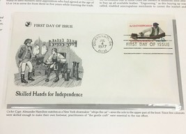 1977 Leather Worker First Day Cover Readers Digest Collectible Stamp - $9.84