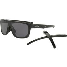 Oakley Crossrange Scudo OO9390-01 Nero Lucido Caldo Grigio Occhiali da Sole - $98.99