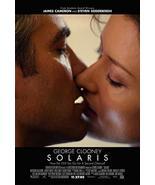 "SOLARIS - 27""x40"" Original Movie Poster One Sheet George Clooney 2002 - $19.59"