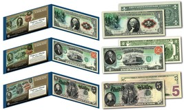 1869 RAINBOW SERIES Currency Notes Designed on Genuine New $1, $2, $5 - ... - $42.03