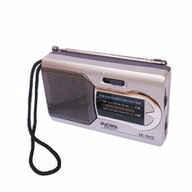 Indin BC-R22 Slim AM/FM Mini Portable World Receiver Stereo Speakers Mus... - $14.97