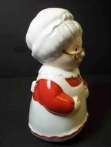 "Vintage OCI Fitz & Floyd Mrs Santa Claus single china shaker 4.5"" replac... - $9.27"