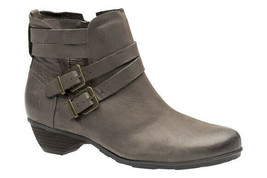 Abeo Nadia Booties  Taupe Nubuck Size Women's  US 11 Neutral Footbed()5370 - $110.00