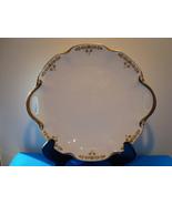Theodore Haviland white porcelain handled chop / serving platter. - $15.00