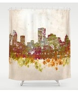 Shower curtains art shower curtain Design 46 ci... - $69.99