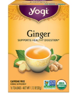 Yogi Caffeine Free Ginger Tea, 16 teabags - $7.99