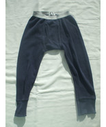 Blue Thermal Long Johns 100% Cotton 3-4 Years Old  Boys  - $4.36