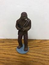 """Star Wars Chewbacca  1997 Applause 3.5""""  Figure  Cake Topper Broken Gun A4 - $8.95"""