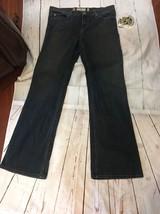 New Juicy Couture 32 Women's Jeans Flared $178 Stretch Dark Blue Denim C... - $38.52