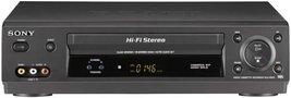 Sony SLV-N500 4-Head Hi-Fi VCR - $82.95